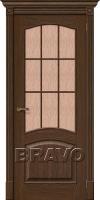 Дверь  Вуд Классик-33 (Капри-3) Golden Oak
