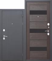 Входная дверь 10 см Троя Муар Темный Кипарис