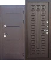 Дверь c ТЕРМОРАЗРЫВОМ 11 см Isoterma медный антик Венге