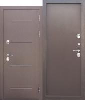 Дверь c ТЕРМОРАЗРЫВОМ 11 см ISOTERMA Антик Металл/Металл