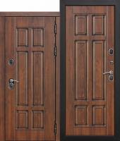 Входная дверь c ТЕРМОРАЗРЫВОМ 13 см Isoterma МДФ/МДФ Грецкий орех
