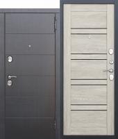 Дверь 10,5 см Чикаго Царга дуб шале белый с МДФ панелями