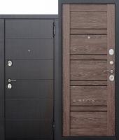 Дверь 10,5 см Чикаго Царга дуб шале корица с МДФ панелями