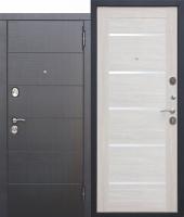 Дверь 10,5 см Чикаго Царга Лиственница беж с МДФ панелями