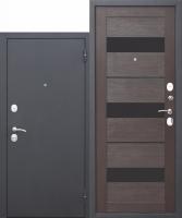 Входная дверь Гарда МУАР ЦАРГА 22 мм Темный кипарис