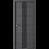 Дверь Стиль темный бетон