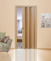 Дверь-гармошка дуб
