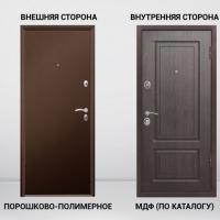 Дверь входная Грант-Бизнес внутреннее открывание