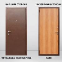 Дверь входная Грант-Эконом внутреннее открывание
