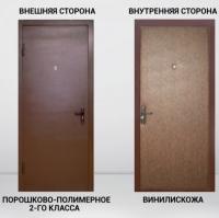 Дверь входная Народная винилискожа
