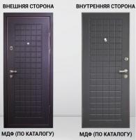 Дверь входная Двойной МДФ