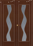 Двери ПВХ Вираж (стекло)