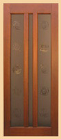Дверь филенчатая Аккорд (стекло)