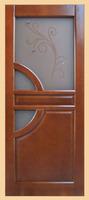 Филенчатые двери Евро (стекло)
