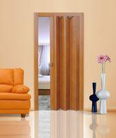 Дверь складная орех