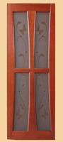 Дверь массив Канн 3 (стекло)