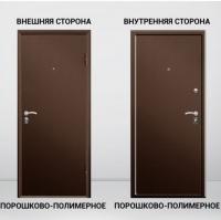 Дверь входная Двойной металл 50 мм