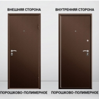 Дверь входная Двойной металл 70 мм