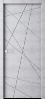 Дверь Паутинка светлый бетон