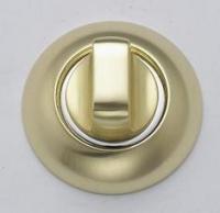 Фиксатор дверной матовое золото