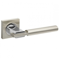 Ручка дверная Fuaro Jazz KM SN/CP