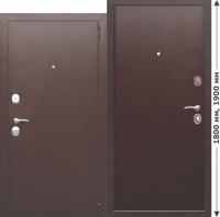 Нестандартная входная дверь GARDA mini Металл/Металл