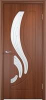 Двери ПВХ Лотос (стекло)