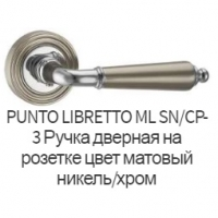 Дверная ручка Punto Libretto SN