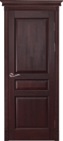 Дверь Валенсия ПГ махагон