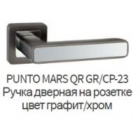 Ручка дверная Mars GR/CP