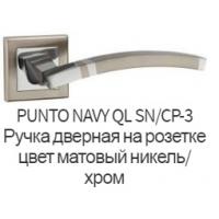 Дверная ручка Punto Navy SN