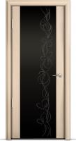 Дверь Омега 2 (широкое стекло)