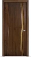 Дверь Омега (узкое стекло)