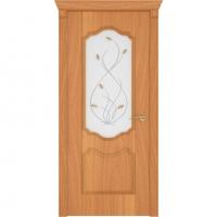 Дверь Орхидея миланский орех ДО