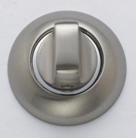 Дверной фиксатор хром