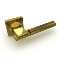Ручка дверная Fuaro Jazz KM AB/GP