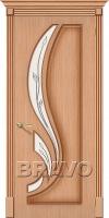 Дверь Лилия Ф-01 (Дуб)