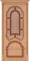 Дверь Соната Ф-01 (Дуб)