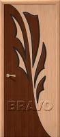 Дверь Дуэт ДГ Ф-01 (Дуб)