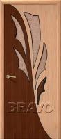 Дверь Дуэт Ф-01 (Дуб)