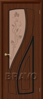 Дверь Лагуна Ф-17 (Шоколад)