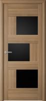 Дверь Стокгольм (черное стекло)