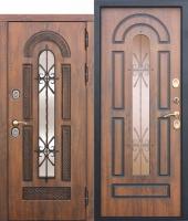 Дверь c ТЕРМОРАЗРЫВОМ 13 см VITRA Винорит Патина (Израиль)